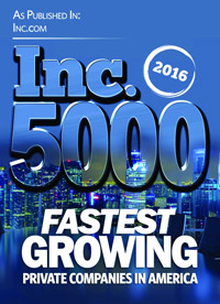 Inc. Magazine 5000 Fastest Growing Companies