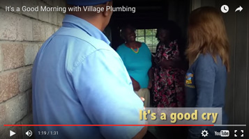 Village Plumbing reaches out