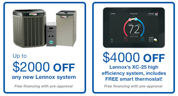 Lennox Beat the Heat Specials